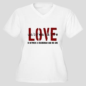 Unbreakable Women's Plus Size V-Neck T-Shirt