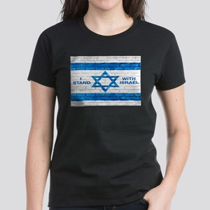 I Stand With Israel Women's Dark T-Shirt