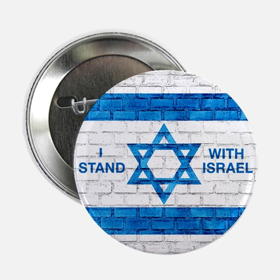"I Stand With Israel 2.25"" Button"