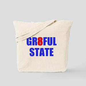 GR8FUL STATE (I) Tote Bag