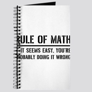 Rule of math Journal
