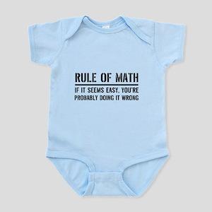 Rule of math Body Suit