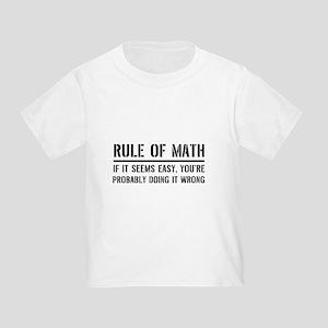 Rule of math T-Shirt