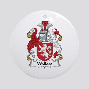 Wallace Ornament (Round)