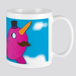 Fancy Norwhal Mug