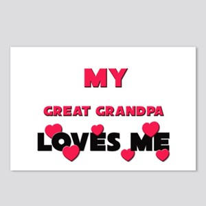 My GREAT GRANDPA Loves Me Postcards (Package of 8)