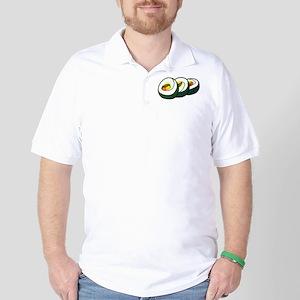 Korean Gimbap Golf Shirt