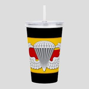 75th Ranger Airborne oval Acrylic Double-wall Tumb