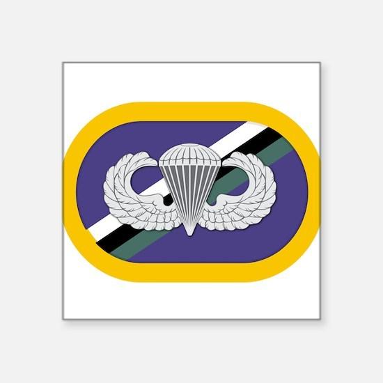"""160th SOAR Airborne Square Sticker 3"""" x 3"""""""