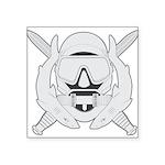 Spec Ops Diver Square Sticker 3