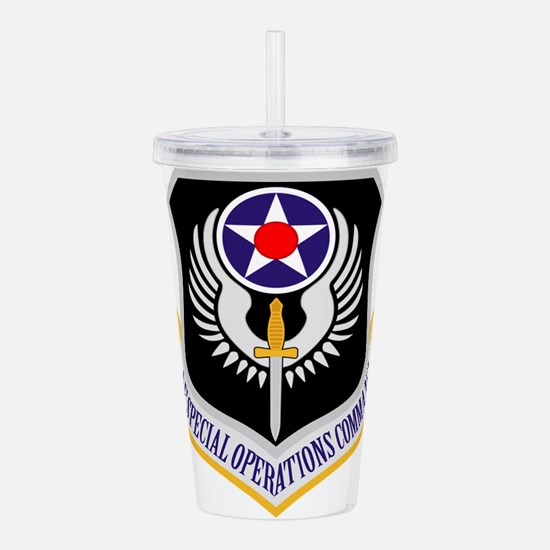 AF Special Operations Command Acrylic Double-wall