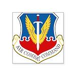 Air Combat Command Square Sticker 3