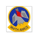 964th AWACS Square Sticker 3