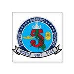 EOD Mobile Unit 5 Square Sticker 3