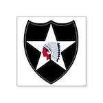 2nd Infantry Square Sticker 3