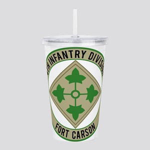 4th Infantry Acrylic Double-wall Tumbler