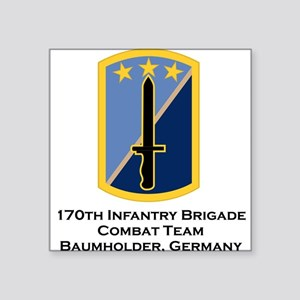 "170th Infantry Square Sticker 3"" x 3"""