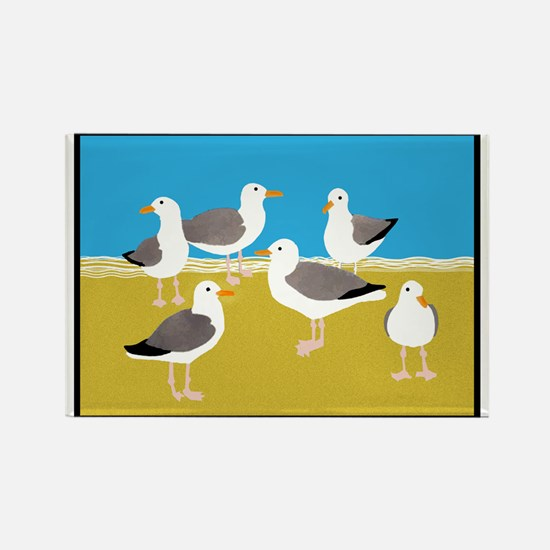 Gang of Seagulls Magnets