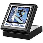 Skier Challenge Keepsake Box