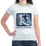 Skier Challenge Jr. Ringer T-Shirt