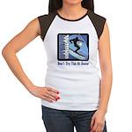 Skier Challenge Women's Cap Sleeve T-Shirt