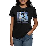 Skier Challenge Women's Dark T-Shirt
