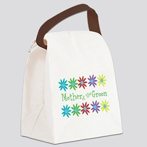 Mother of Groom Canvas Lunch Bag