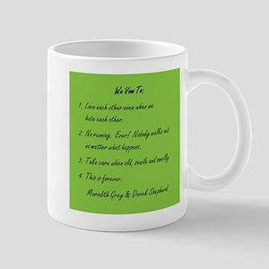 POST-IT NOTE VOWS Mug