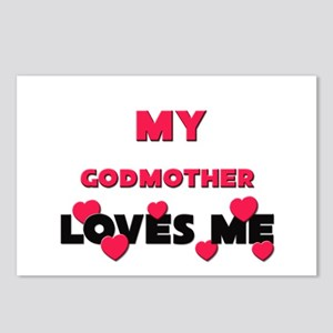 My GODMOTHER Loves Me Postcards (Package of 8)