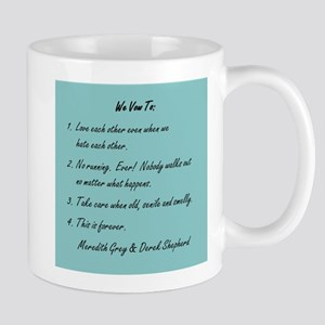 POST-IT NOTE VOWS Mug