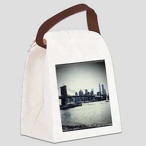 Brooklyn Bridge Canvas Lunch Bag