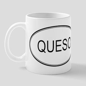 QUESO (oval) Mug