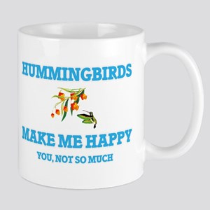 Hummingbirds Make Me Happy Mugs