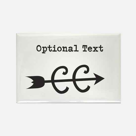 Customize Text Cross Country Magnets