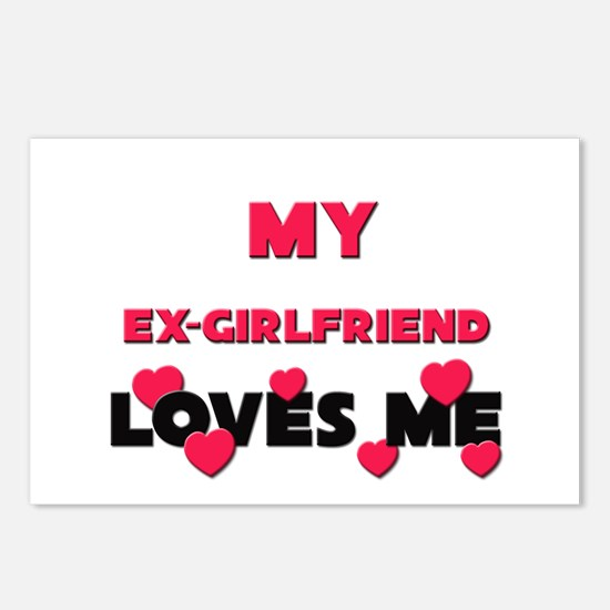 My EX-GIRLFRIEND Loves Me Postcards (Package of 8)
