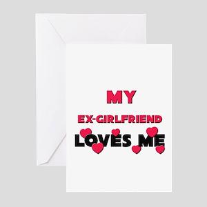 My EX-GIRLFRIEND Loves Me Greeting Cards (Package