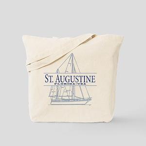 St. Augustine - Tote Bag