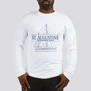 St. Augustine - Long Sleeve T-Shirt