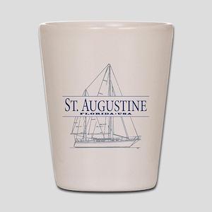 St. Augustine - Shot Glass
