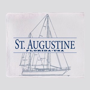 St. Augustine - Throw Blanket