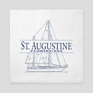 St. Augustine - Queen Duvet