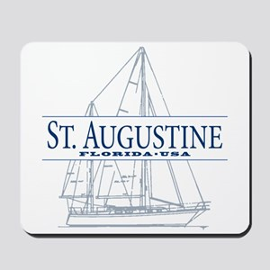 St. Augustine - Mousepad