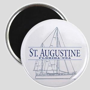 St. Augustine - Magnet