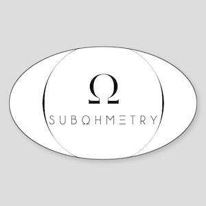 SUBOHMETRY WATERMARK Sticker