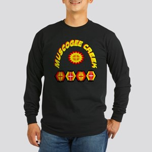 MUSCOGEE CREEK Long Sleeve Dark T-Shirt