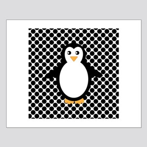 Penguin on Black and White Posters