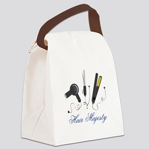 Hair Majesty Canvas Lunch Bag