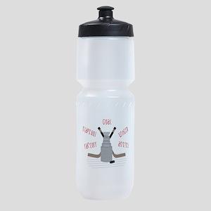 Hockey Terms Sports Bottle