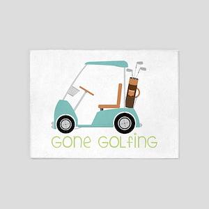 Gone Golfing 5'x7'Area Rug