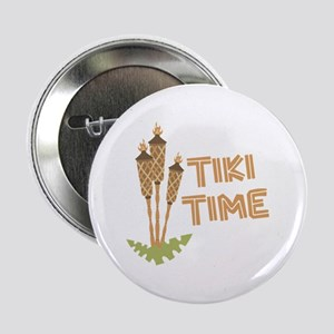"Tiki Time 2.25"" Button"